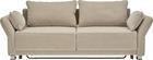 Schlafsofa Beige - Beige, MODERN, Textil (270/80/100cm) - Premium Living