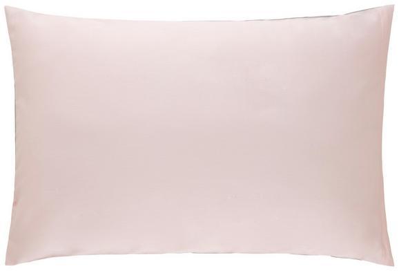 Kissenhülle Belinda, ca. 40x60cm - Hellgrau/Rosa, Textil (40/60cm) - Premium Living