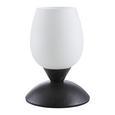 Tischleuchte Cup, max. 40 Watt - Rostfarben/Weiß, LIFESTYLE, Glas/Metall (10/18cm) - Mömax modern living