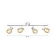 Proiector Rolli - gri, Lifestyle, sticlă/metal (70cm) - Premium Living