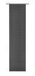 Flächenvorhang Loft Schwarz 60x245cm - Schwarz, MODERN, Textil (60/245cm) - Mömax modern living