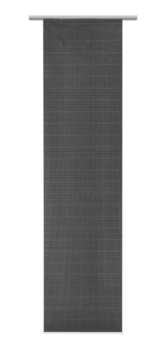 Panelna Zavesa Loft - črna, Moderno, tekstil (60/245cm) - Mömax modern living