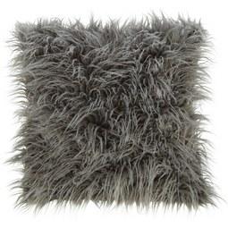 Fellkissen Svea ca.45x45cm - Hellgrau, Textil (45/45cm) - Mömax modern living