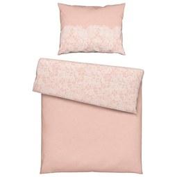 Ágyneműhuzat Evelin - Rózsaszín, romantikus/Landhaus, Textil (140/200cm) - Mömax modern living