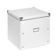Aufbewahrungsbox Lorenz Weiß, Faltbar - Weiß, Karton/Metall (33/33/31cm) - Mömax modern living