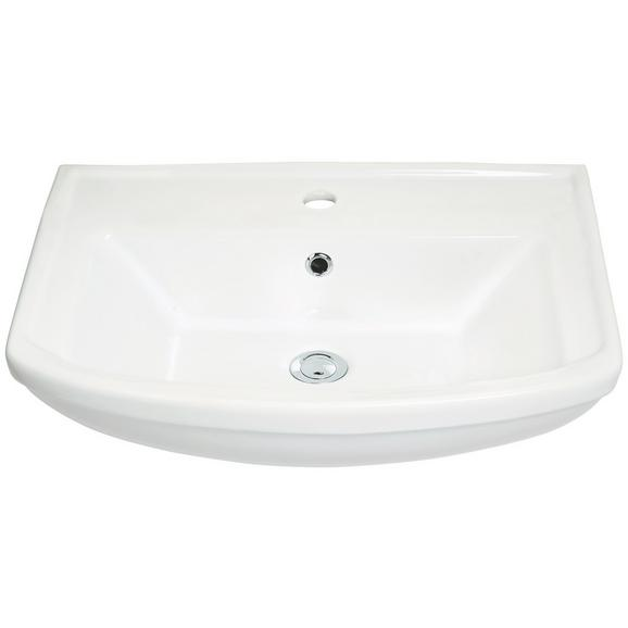 Umivalnik Star - bela, keramika (61/18/48,5cm)