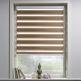 Klemmrollo Klemm Light, ca. 100x160cm - Taupe, MODERN, Textil/Metall (100/160cm) - Mömax modern living