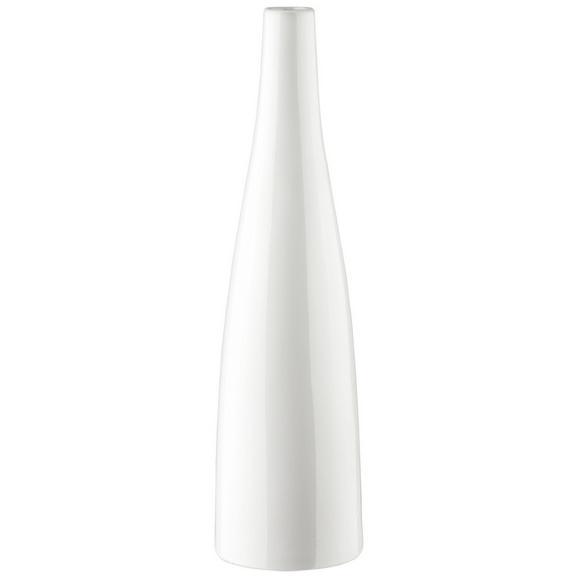 Vase Plancio Weiß - Weiß, MODERN, Keramik (39.6cm) - Mömax modern living