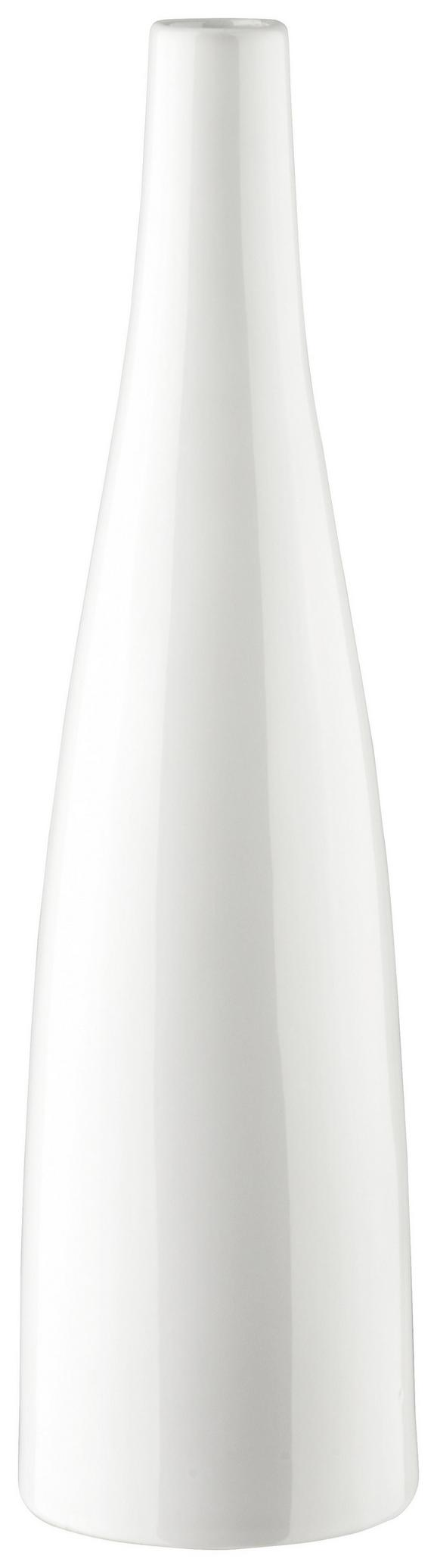 Vaza Plancio - bela, Moderno, keramika (39.6cm) - Mömax modern living