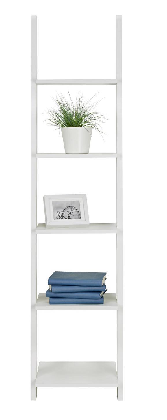 Regal Weiß, 5 Ablagen - Weiß, KONVENTIONELL, Holz/Holzwerkstoff (41,4/176/34,2cm) - Mömax modern living