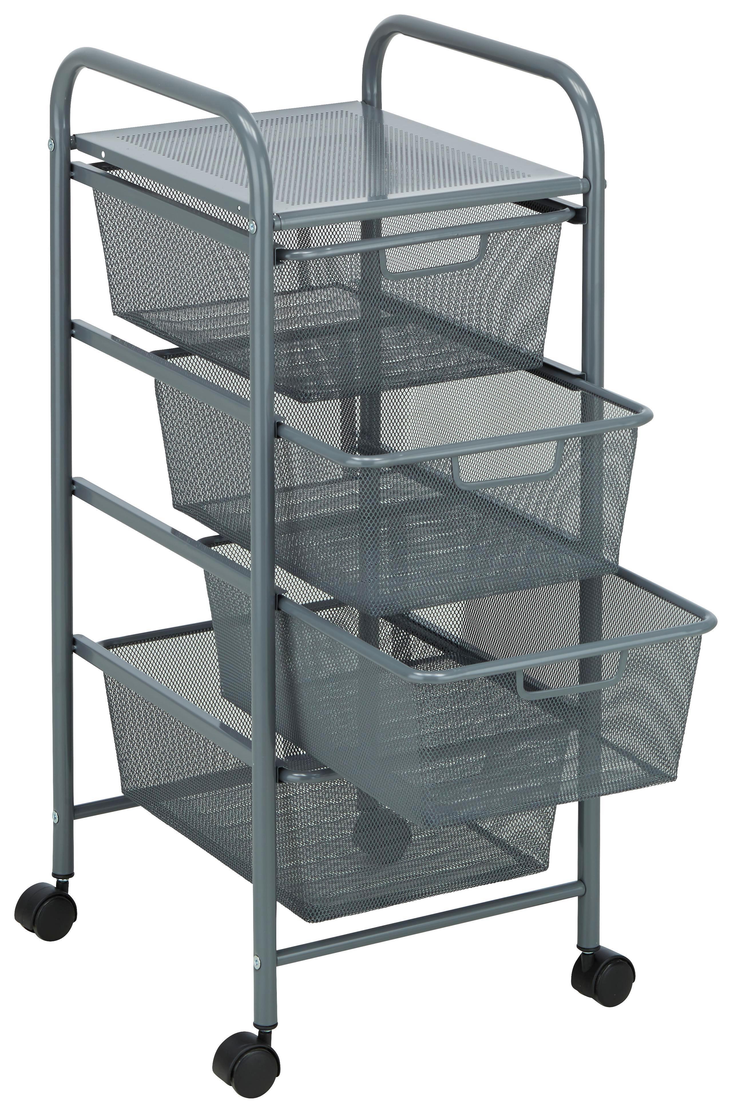 Rollcontainer metall  Rollcontainer in Grau online kaufen ➤ mömax