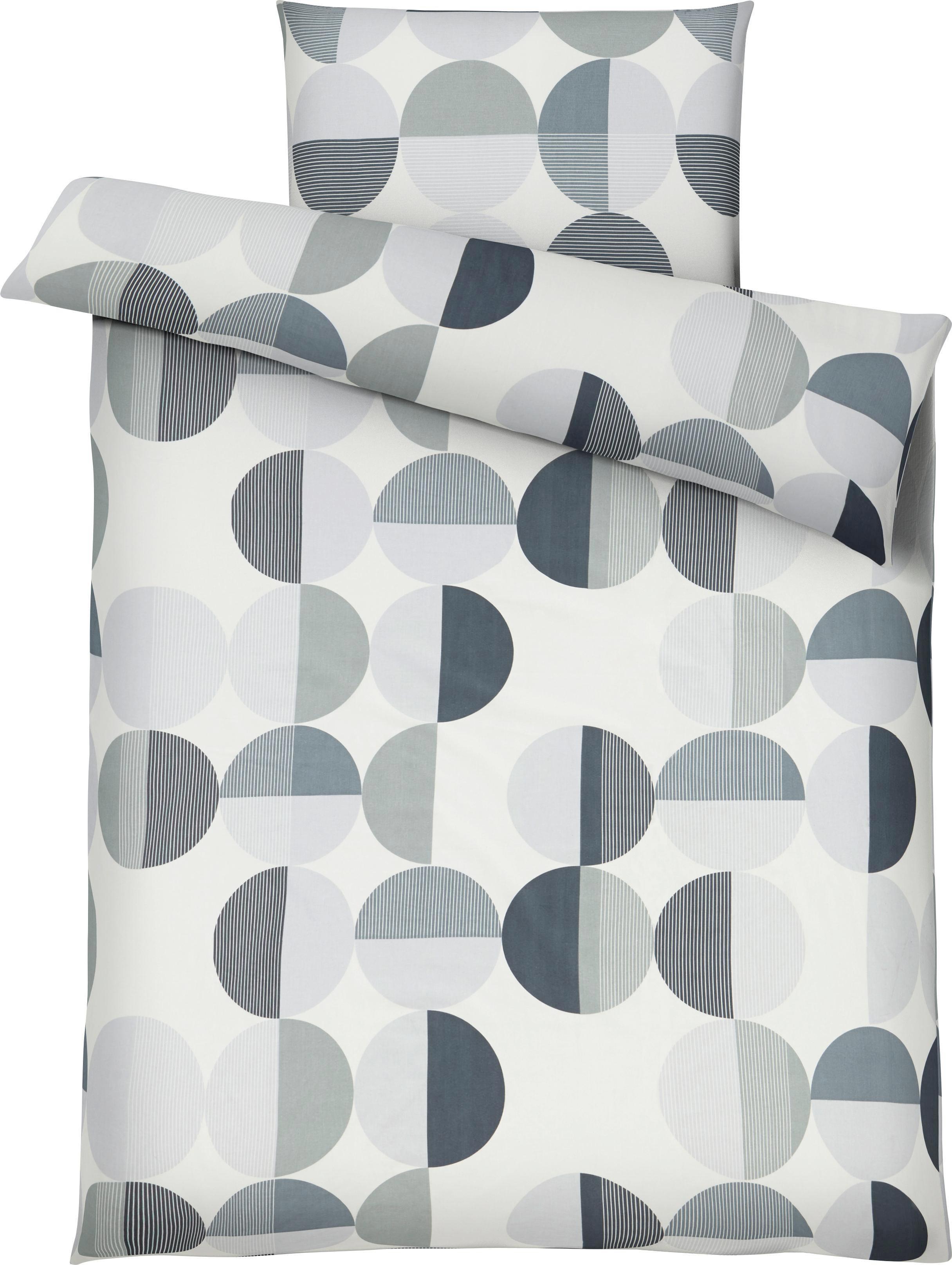 Bettwäsche Clemens in Grau ca. 135x200cm - Grau, Textil (135/200cm) - MÖMAX modern living