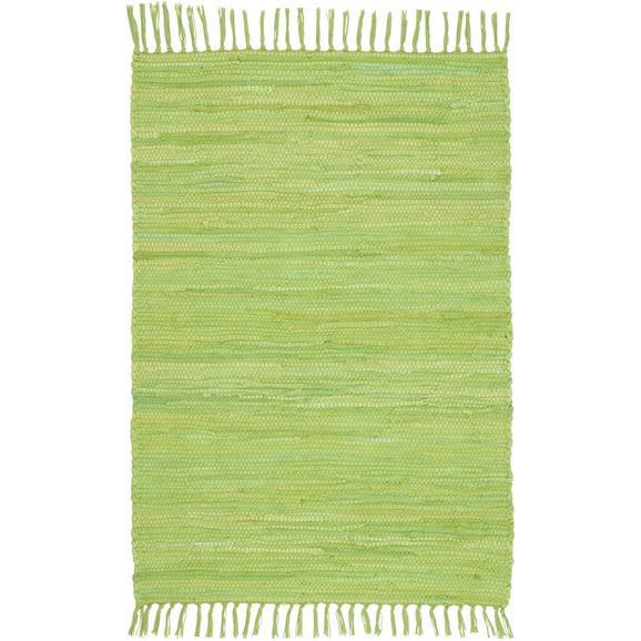 Krpanka Julia - svetlo zelena, Konvencionalno, tekstil (60/90cm) - Mömax modern living