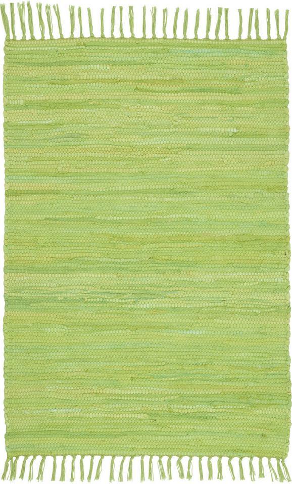 Rongyszőnyeg Julia - világoszöld, konvencionális, textil (60/90cm) - MÖMAX modern living