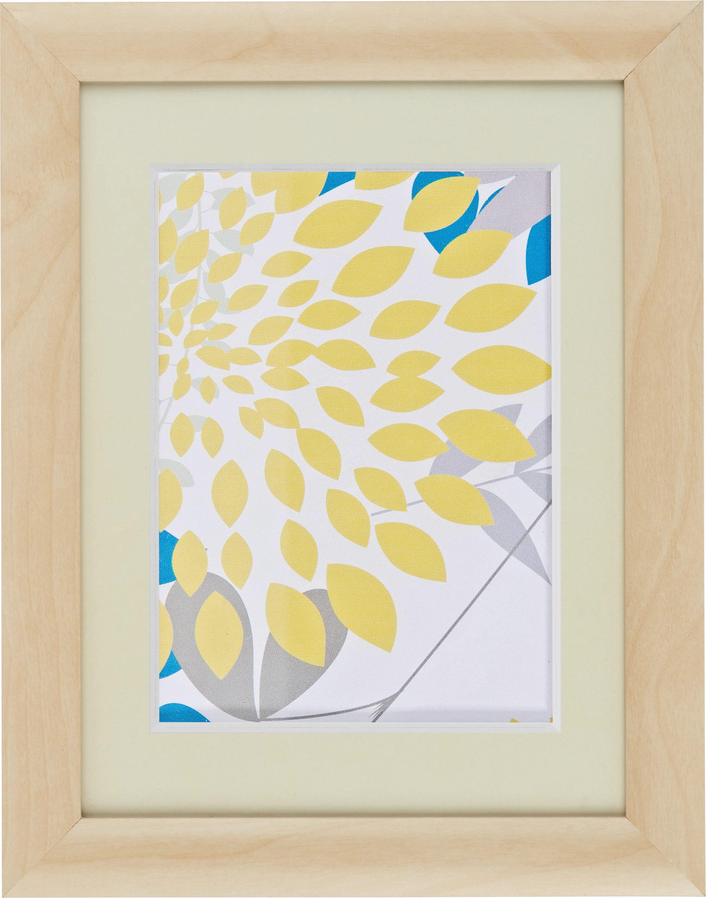Képkeret Natúr Fenyő - natúr színek, romantikus/Landhaus, üveg/fa (18/24cm) - MÖMAX modern living