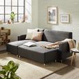 Sedežna Garnitura Victor - bela/krom, Konvencionalno, kovina/les (205/83/140cm) - Modern Living