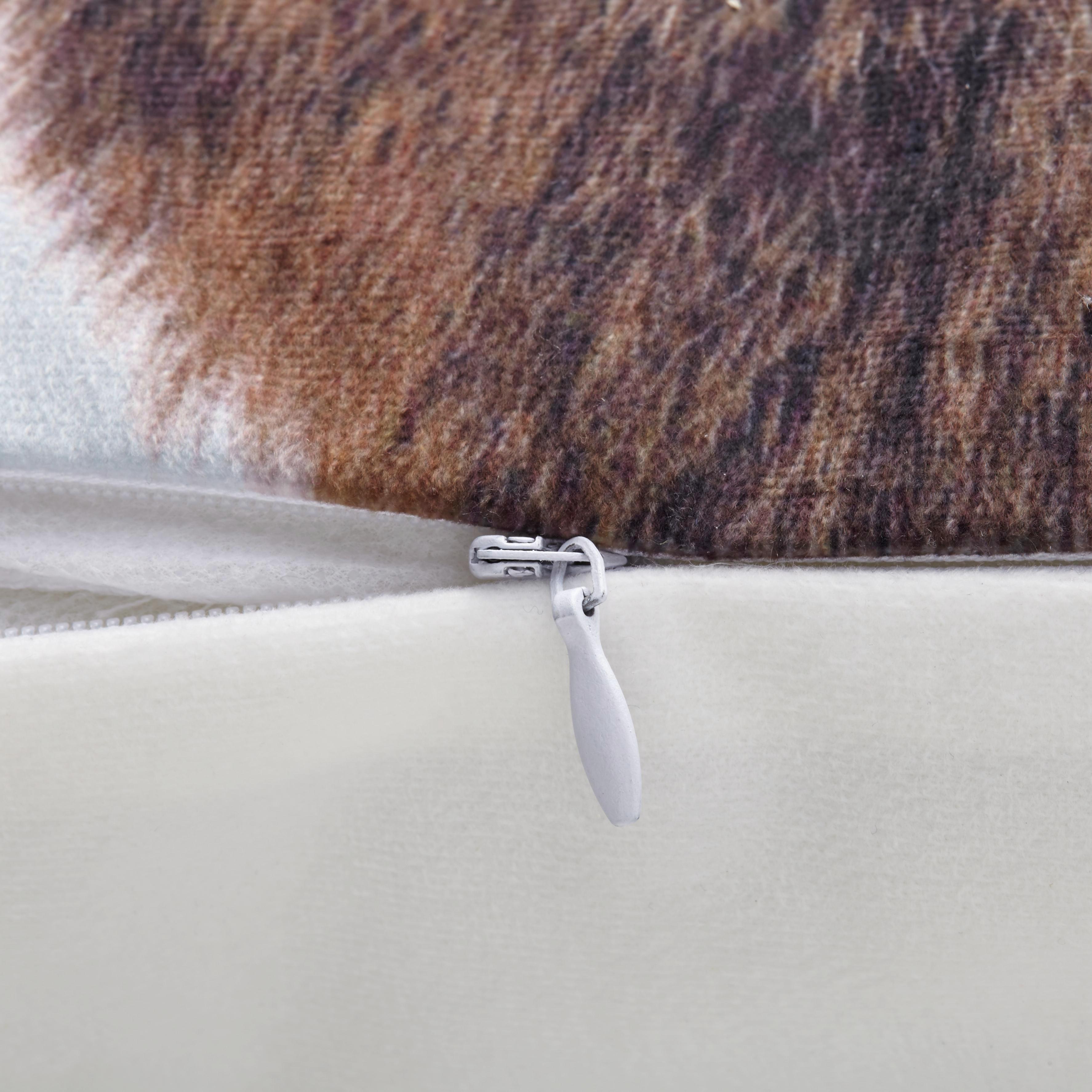 Zierkissen Alpina 45x45cm - Weiß, MODERN, Textil (45/45cm) - MÖMAX modern living