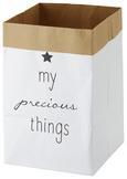Geschenktasche Sammy Weiß 3-teilig - Weiß, LIFESTYLE, Papier (20/30/20cm)