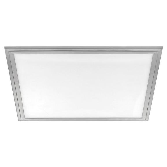 LED-Paneel Salobrena 2 max. 25 Watt - Alufarben/Weiß, MODERN, Kunststoff/Metall (45/45/1,1cm)