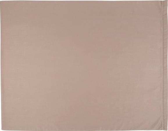 Kissenhülle Belinda, ca. 80x80cm - Creme/Grau, Textil (80/80cm) - Premium Living