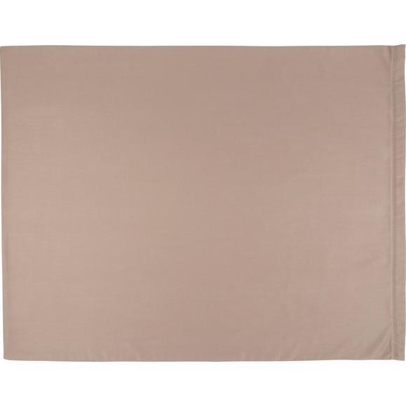 Prevleka Blazine Belinda - siva/krem, tekstil (70/90cm) - Premium Living