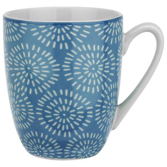 Lonček Za Kavo Nina - modra, keramika (8,5/10cm) - Mömax modern living