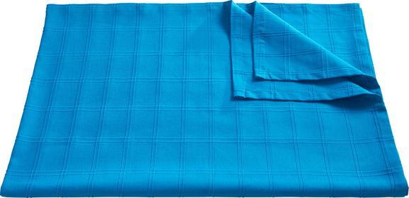 Überwurf Serpil Verschiedenen Farben - Blau/Rot, Textil (140/210/cm) - Mömax modern living