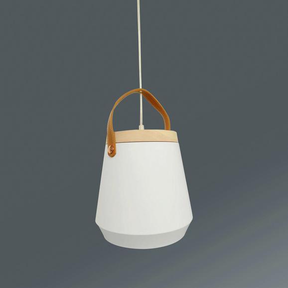 Hängeleuchte Yolli max. 40 Watt - Weiß, LIFESTYLE, Metall (25,8/150cm) - Modern Living