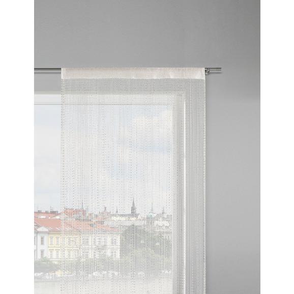 Zsinórfüggöny Olaf - Rózsaszín/Fehér, konvencionális, Textil (90/245cm) - Mömax modern living