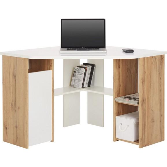 eckschreibtisch in wei wotan online kaufen m max. Black Bedroom Furniture Sets. Home Design Ideas