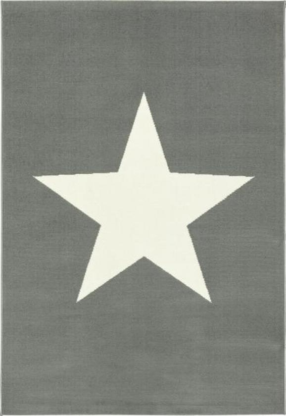 Webteppich Stern, ca. 100x150cm - Dunkelgrau, LIFESTYLE (100/150cm) - MÖMAX modern living