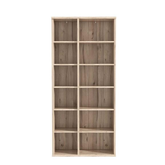 Regal in Eichefarben - Eichefarben, MODERN, Holzwerkstoff/Kunststoff (100/217/40cm) - Premium Living