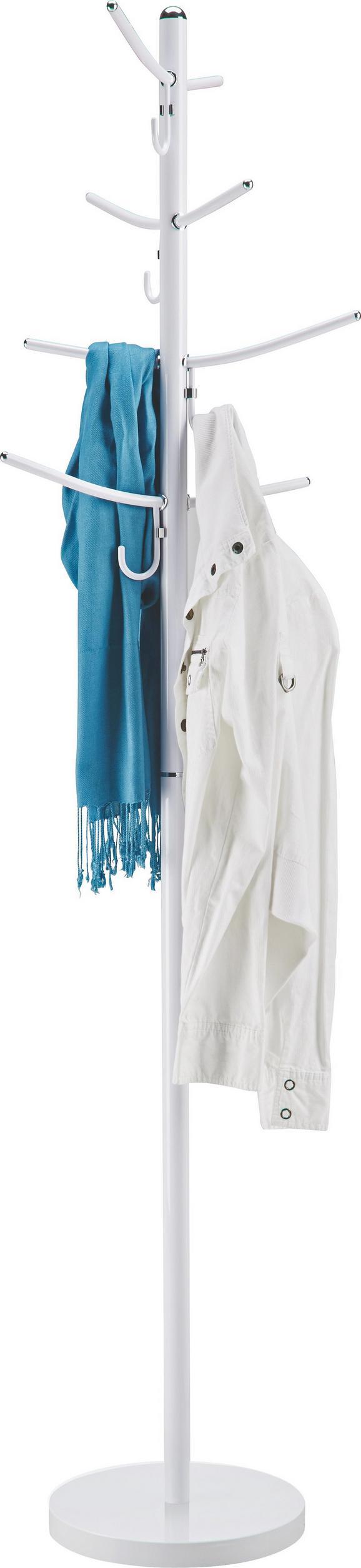 Kleiderständer Modern kleiderständer in weiß aus metall kaufen mömax