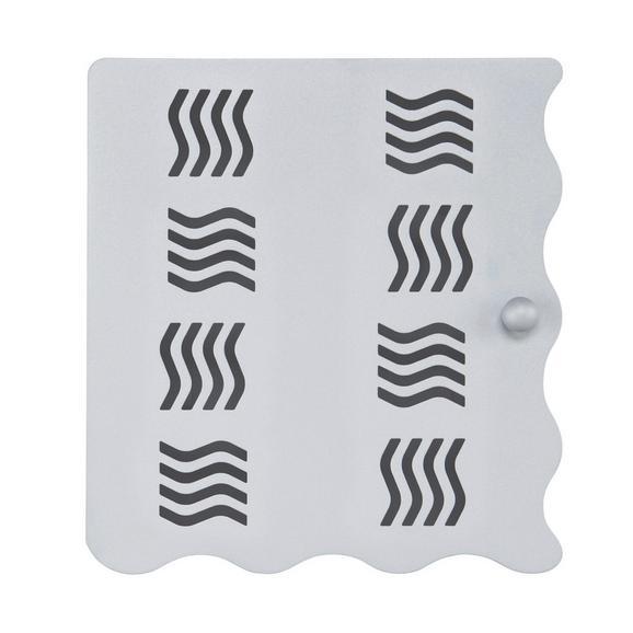Schlüsselkasten Alufarben - Alufarben, Metall (22/24/4,50cm) - Mömax modern living