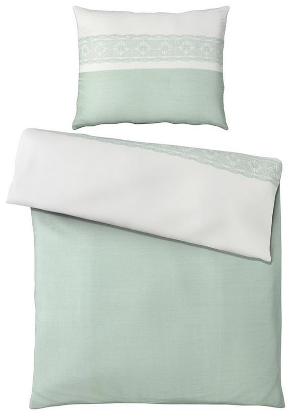 Ágyneműhuzat-garnitúra Ella - Zöld, romantikus/Landhaus, Textil (140/200cm) - Mömax modern living