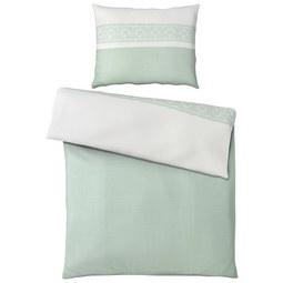 Posteljnina Ella -ext- - zelena, Romantika, tekstil (140/200cm) - MÖMAX modern living