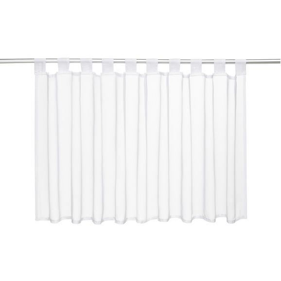 Perdea Scurtă Hanna - alb, textil (145/50cm) - Modern Living