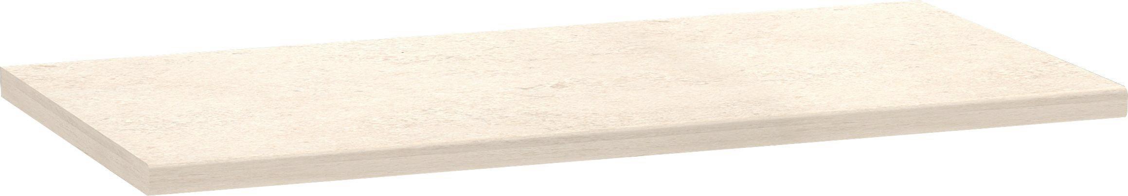Munkalap Multiforte - fehér, modern, fa (123/3,9/60cm)