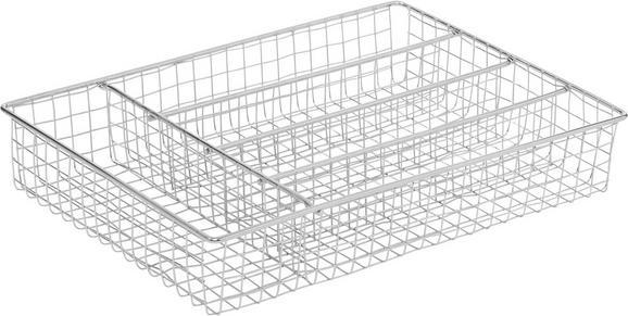 Vložek Za Jedilni Pribor Max - krom, kovina (30/22/5,5cm) - Mömax modern living