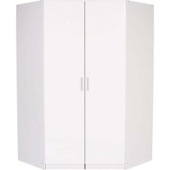 Kotna Omara Celle - aluminij, Moderno, umetna masa/leseni material (117/197/117cm) - Premium Living