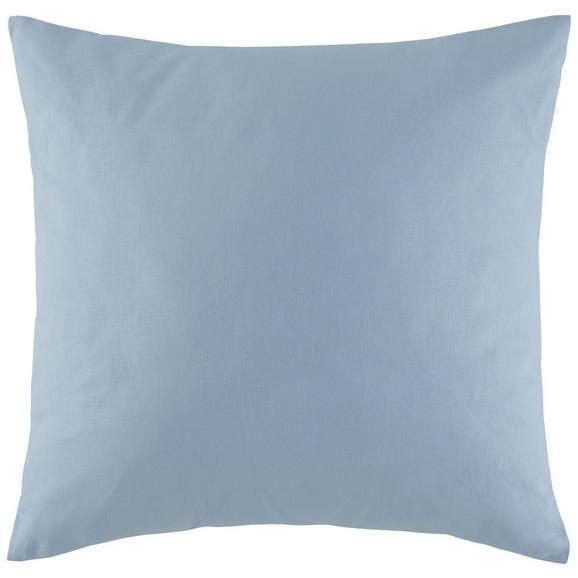 Zierkissen Zippmex in Blau ca. 50x50cm - Hellblau, Textil (50/50cm) - Based
