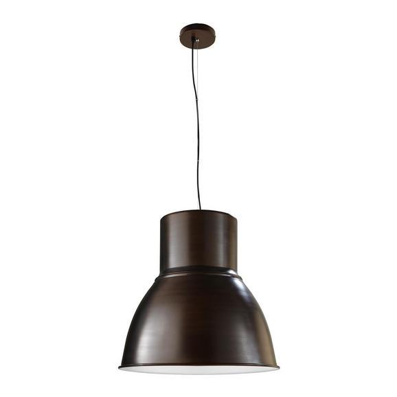 Pendelleuchte Victor - Braun/Weiß, MODERN, Metall (47/47/120cm) - Mömax modern living
