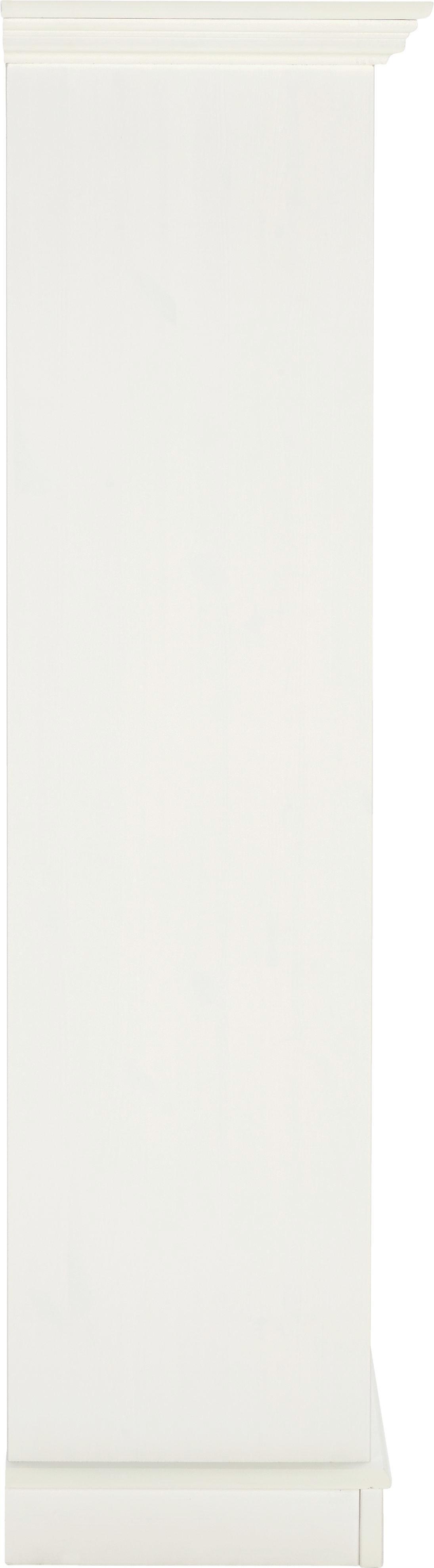Schuhschrank Claudia - Weiß, Holz/Metall (80/135/35cm) - PREMIUM LIVING