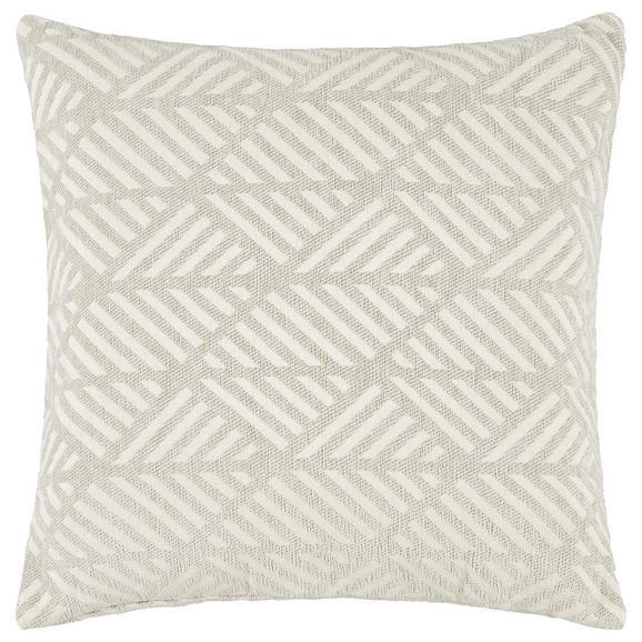 Prevleka Blazine Mary Jacquard - svetlo siva, Moderno, tekstil (45/45cm) - Mömax modern living