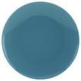 Speiseteller Sandy aus Keramik Ø ca. 26,8cm - Blau, KONVENTIONELL, Keramik (26,8/2,42cm) - Mömax modern living