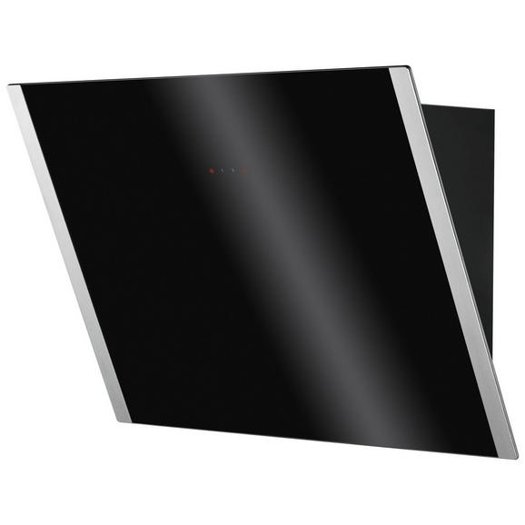 Dunstabzugshaube ZHV64750BA - Schwarz, Glas (59,8/91,2/37,9cm) - Zanussi