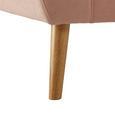 Sofa Anela - Rosa, MODERN, Holz/Textil (168/84/79cm) - Modern Living