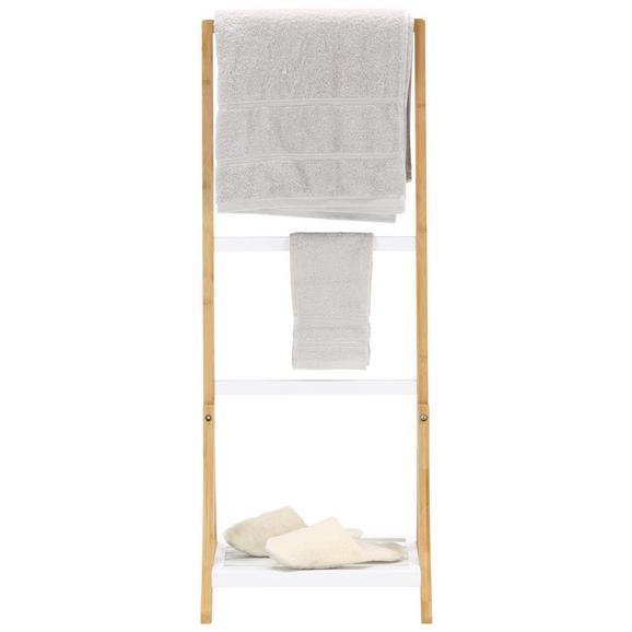 Lestev Za Brisače Nora - naravna/bela, leseni material/les (40/105/28cm) - Mömax modern living