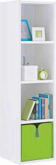 Regal Sunny - bela, Moderno, les (38/146/38cm) - Premium Living