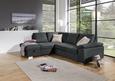 Sjedeća Garnitura Cara - siva/boje kroma, Romantik / Landhaus, tekstil/metal (213/250cm) - James Wood
